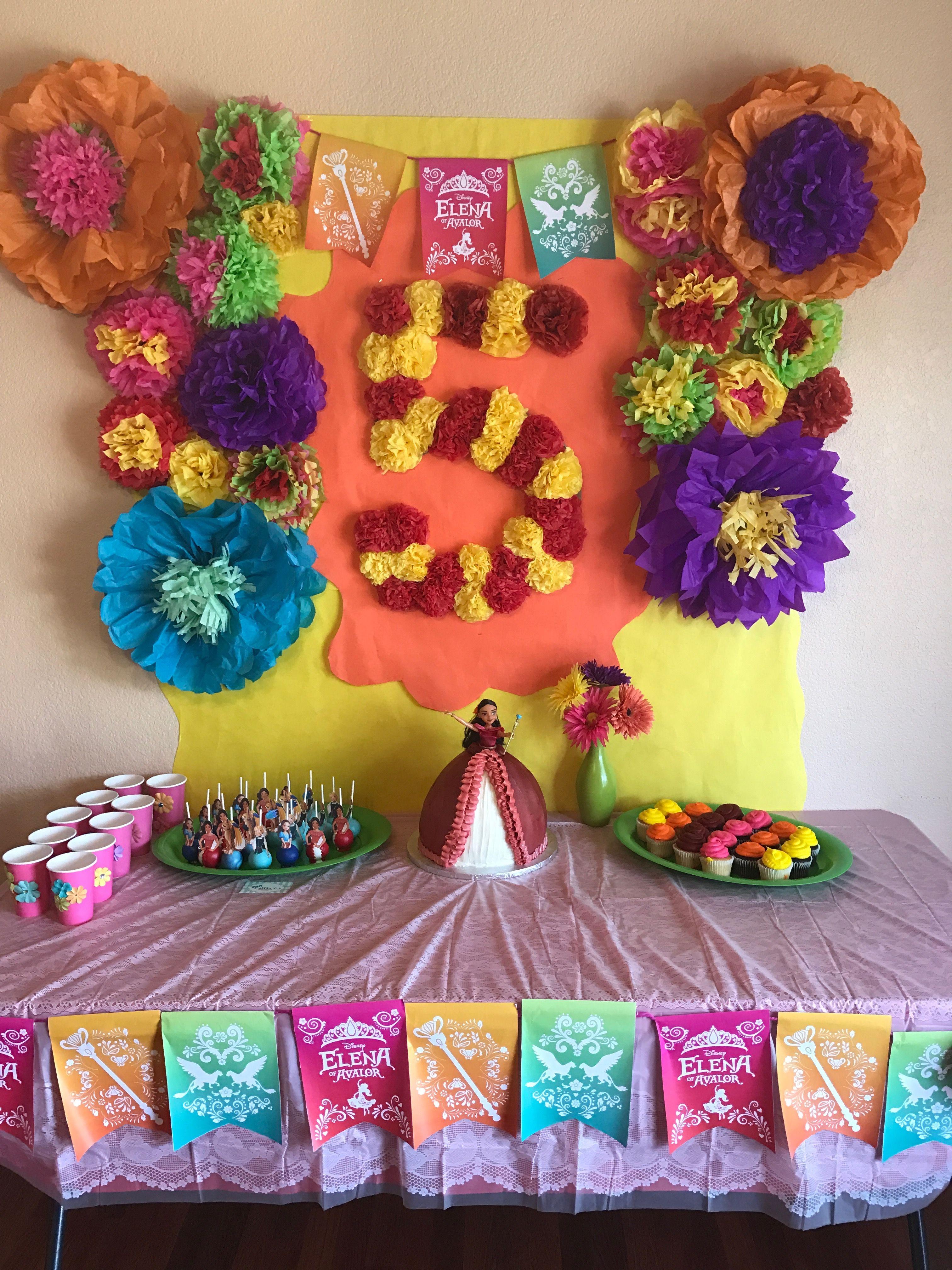 Elena Of Avalor Girl 2nd Birthday Moana Party 5th Ideas
