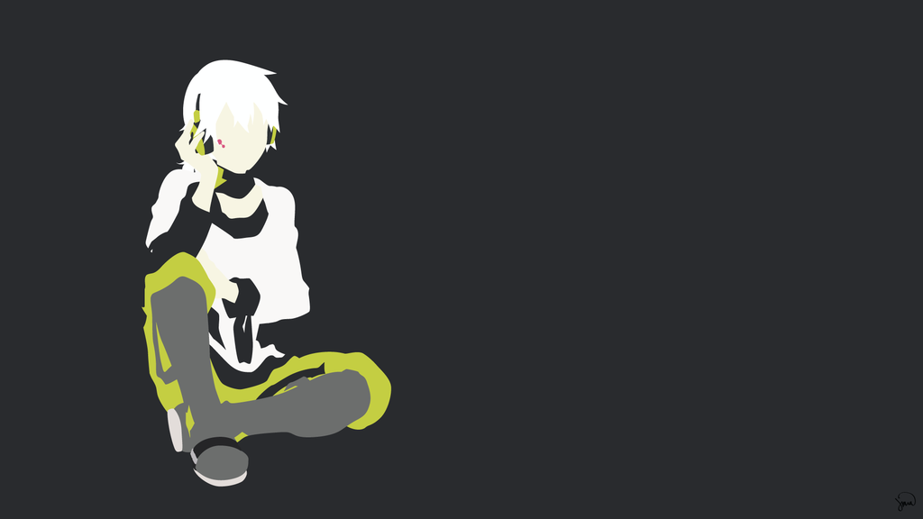 Konoha (Mekaku City Actors) Minimalist Wallpaper by greenmapple17 on DeviantArt