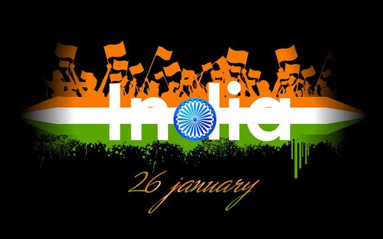 Happy India Republic Day Image Republic Day Indian Flag