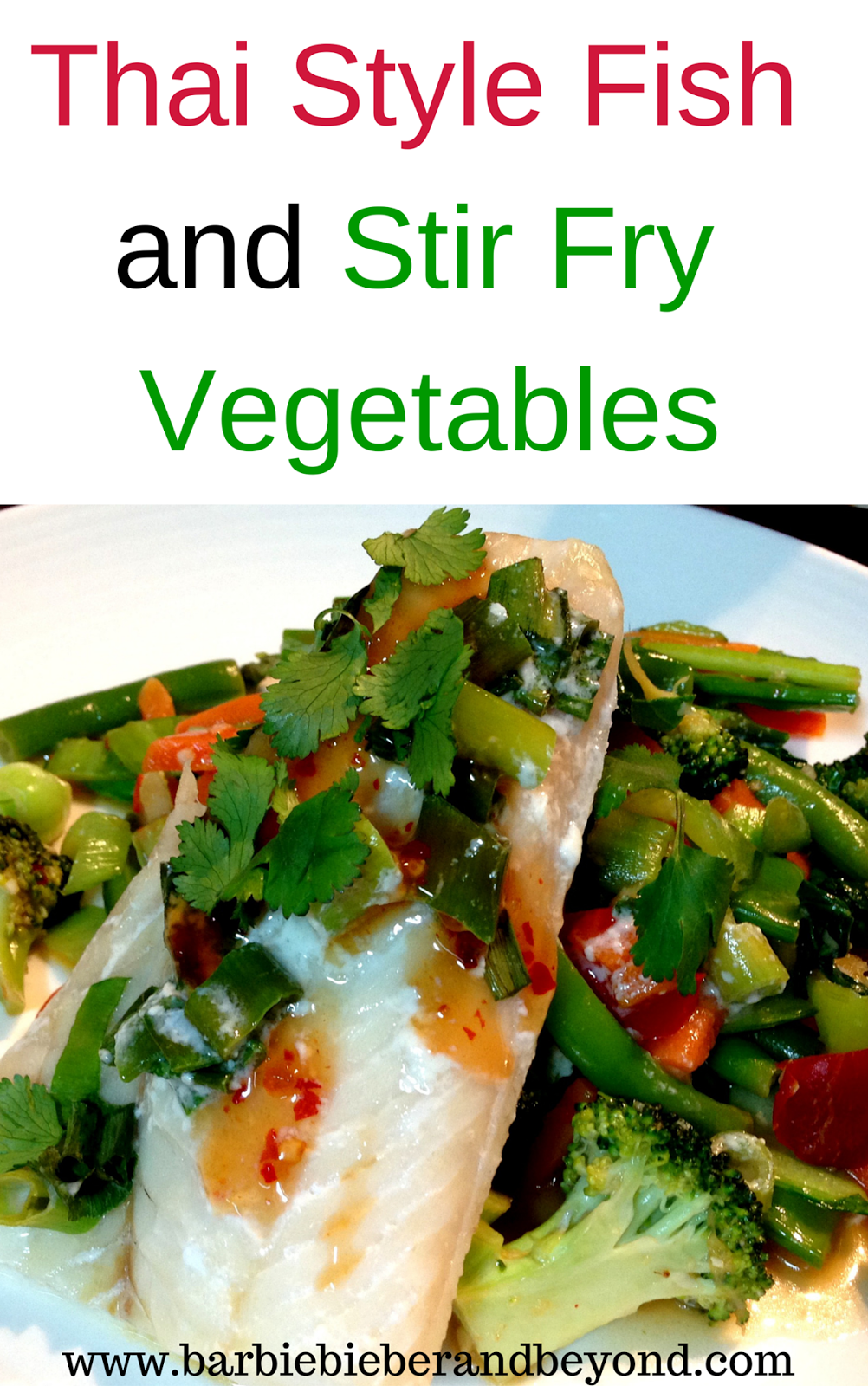 Thai style fish and stir fried vegetables family favourite favorite recipes thai style fish and stir fried vegetables an easy recipe for a quick forumfinder Choice Image