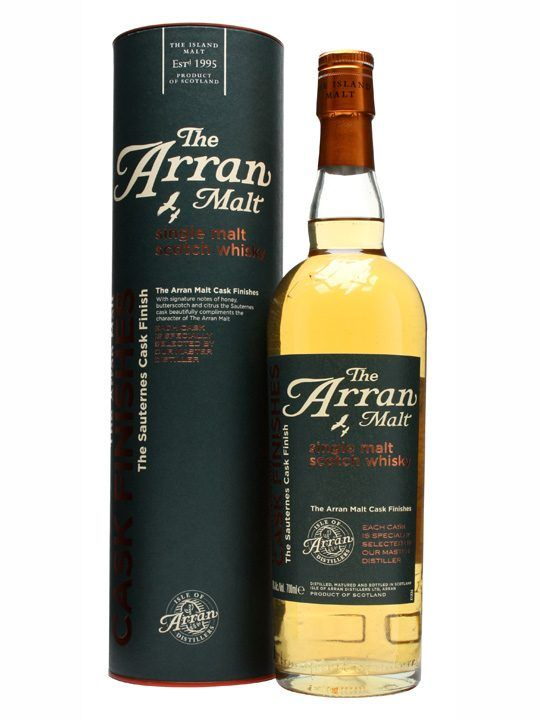 An Interesting Entry In The Arran Cask Finishes Range With Spirit Spending Last Few Years Of Its Maturation A Sauternes Sweet Wine