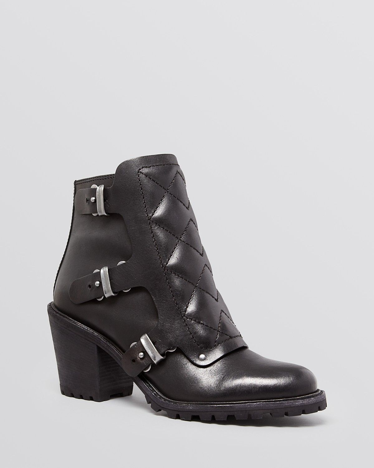 MARC BY MARC JACOBS Booties - Quilted High Heel | Bloomingdale's