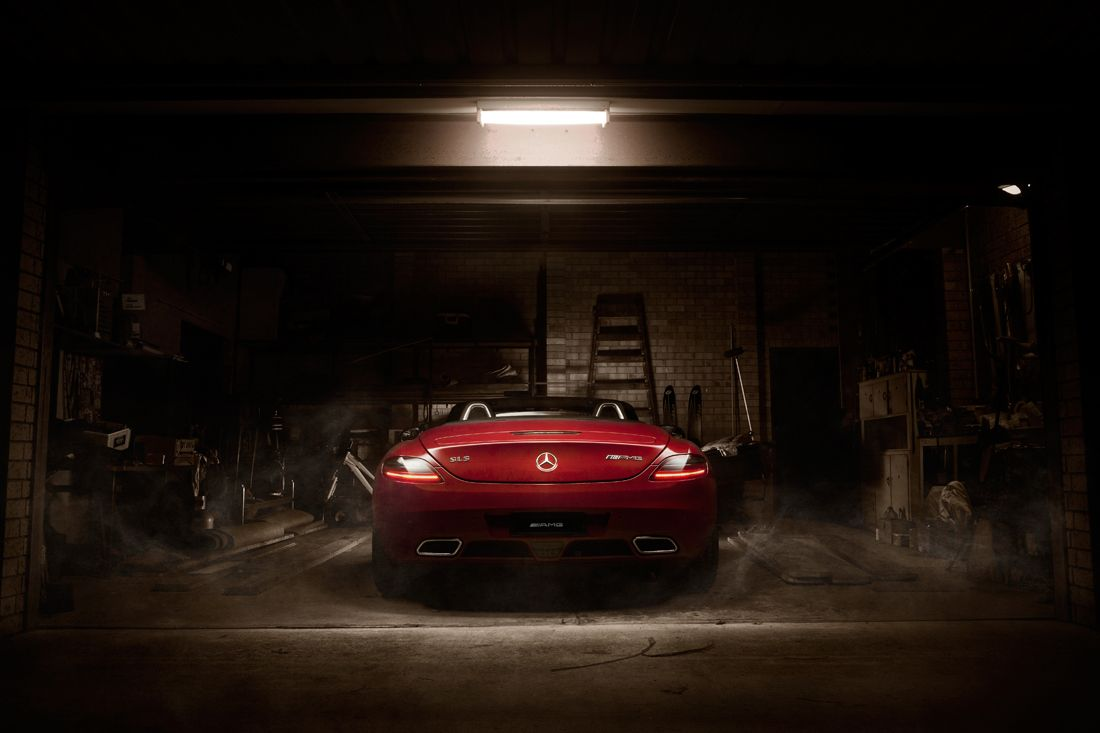 Mercedes SLS AMG by Easton Chang Automotive Photography