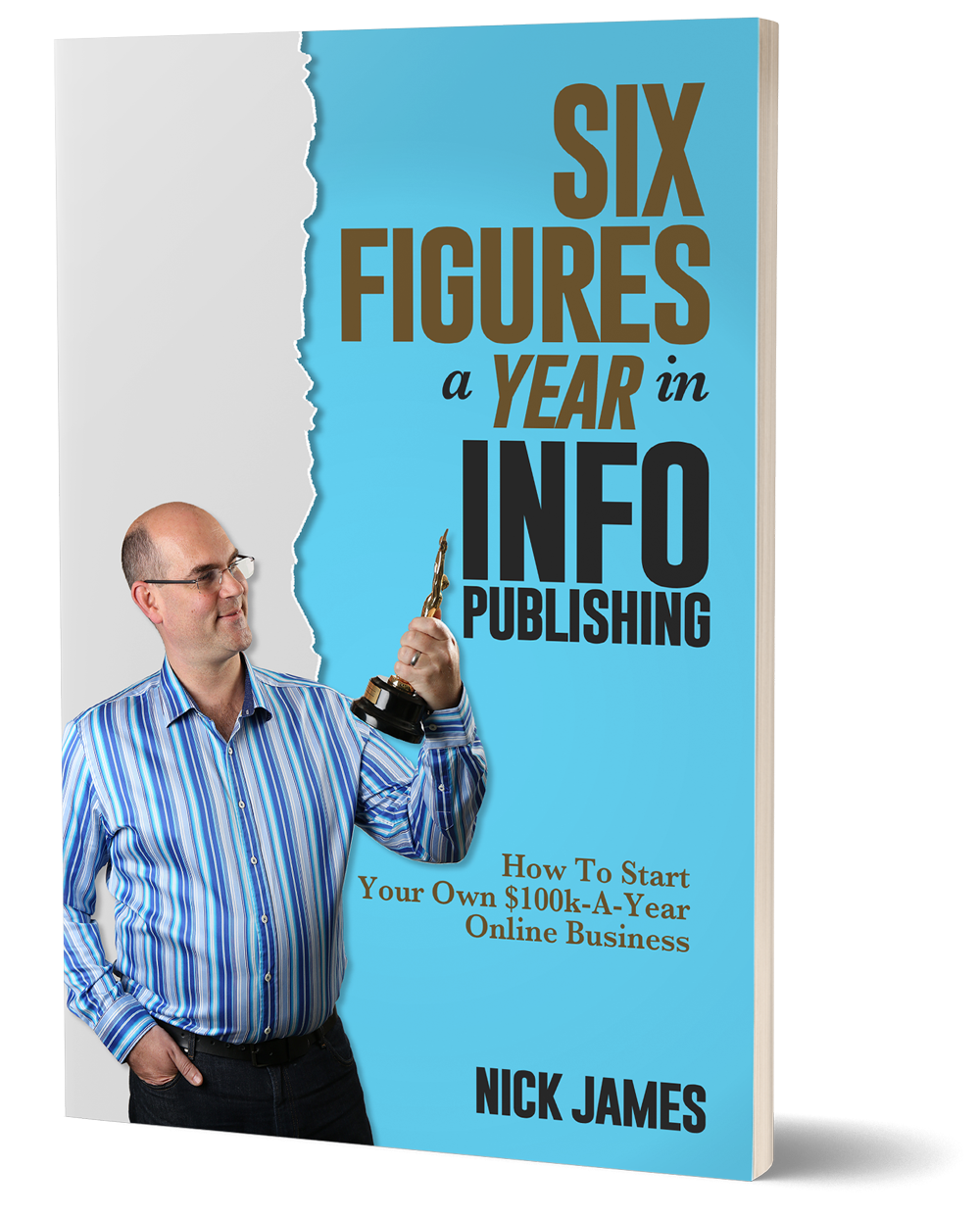 Six Figures A Year In Info Publishing From Nick James Bonus Review Url