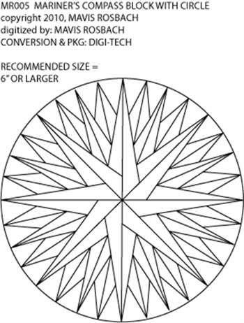 block, mariner, compass, nautical, abtract, geometric