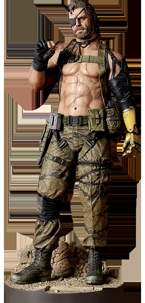Venom Snake Play Demo Version Statue Venom Snake Snake Metal Gear Metal Gear