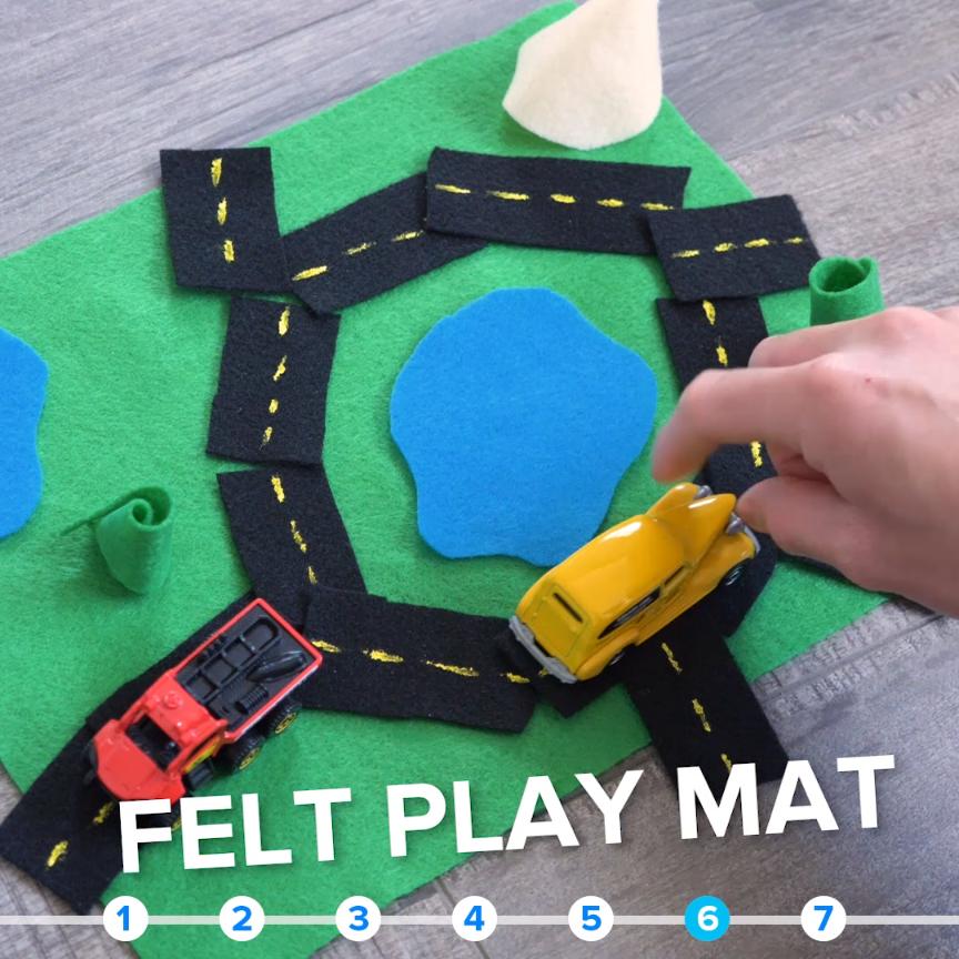 7 No-Mess Ways To Make Your Kids Love Quiet Time #parents #kids # DIY #felt #simple #games #sensorythings