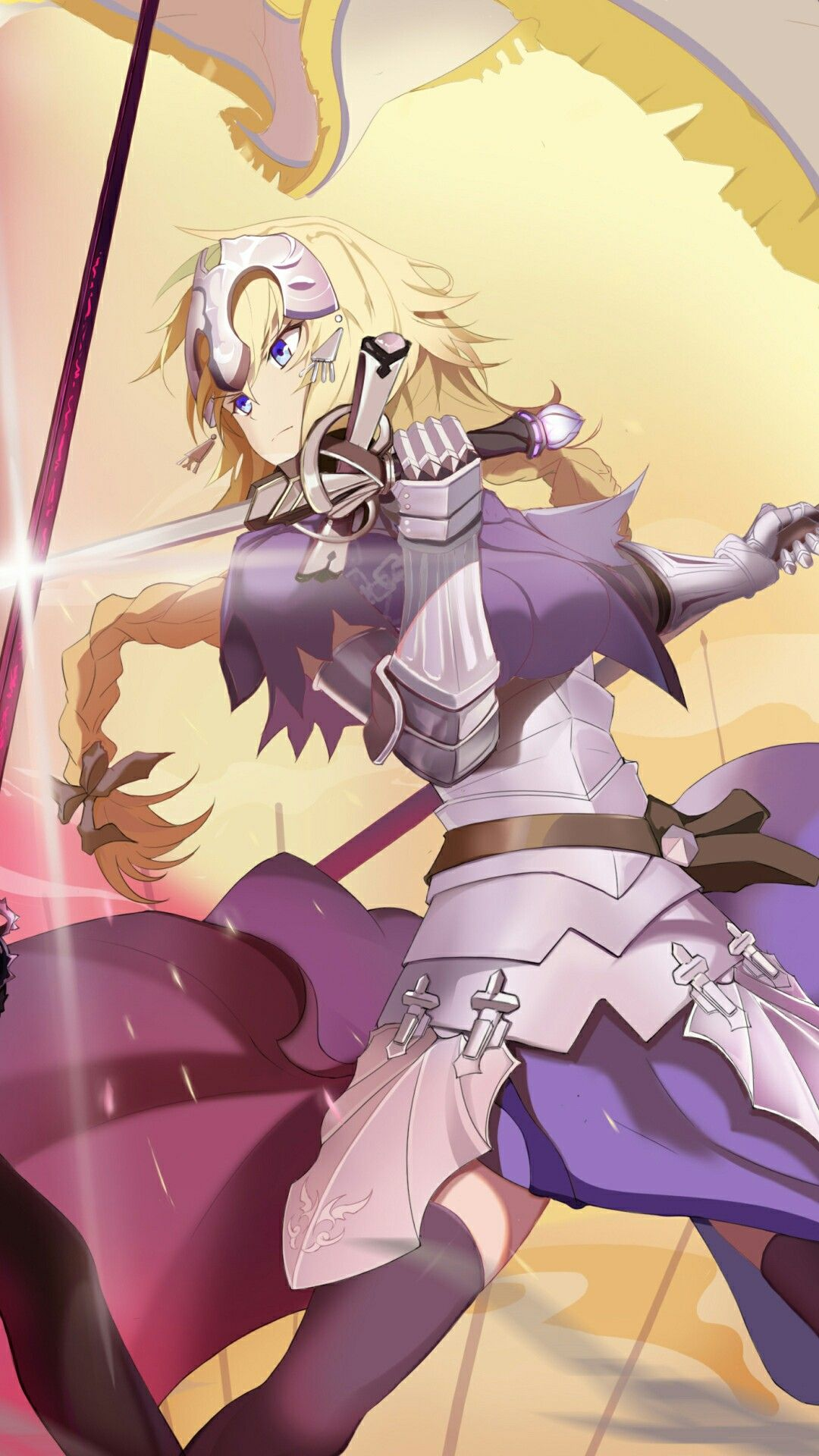 Pin by re on Jeanne D'Arc Anime, Fate, Wallpaper