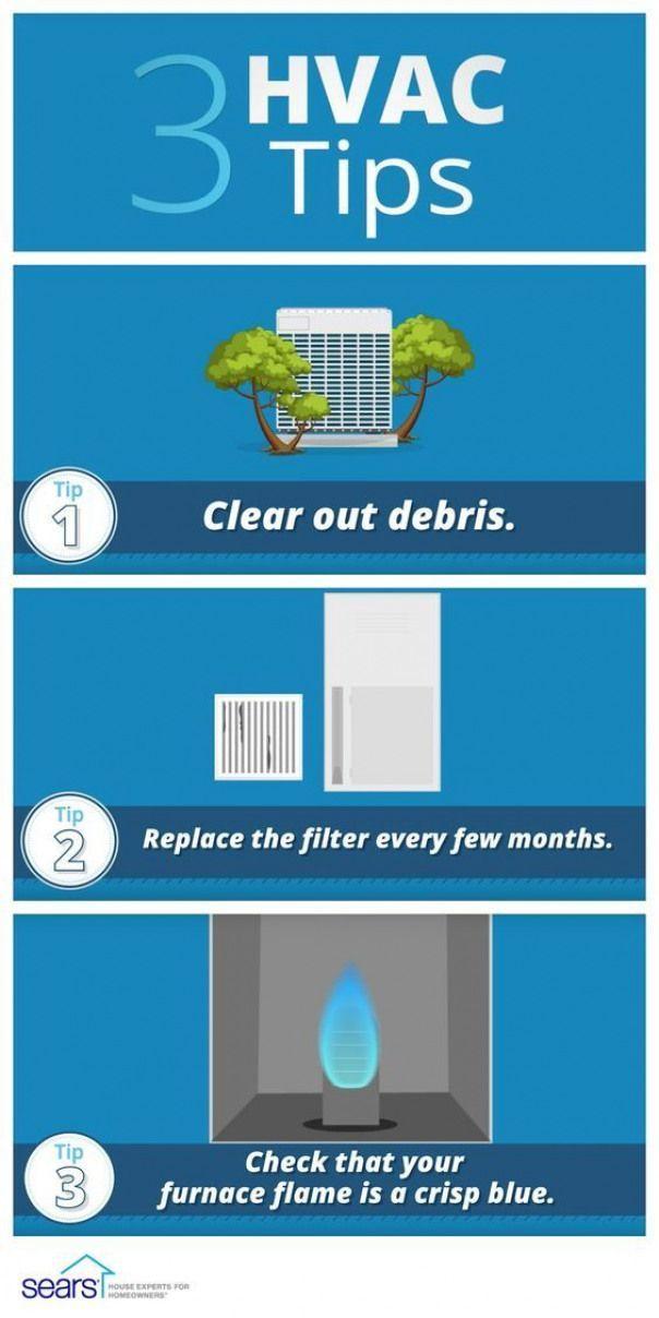 3 HVAC Tips (infographic)