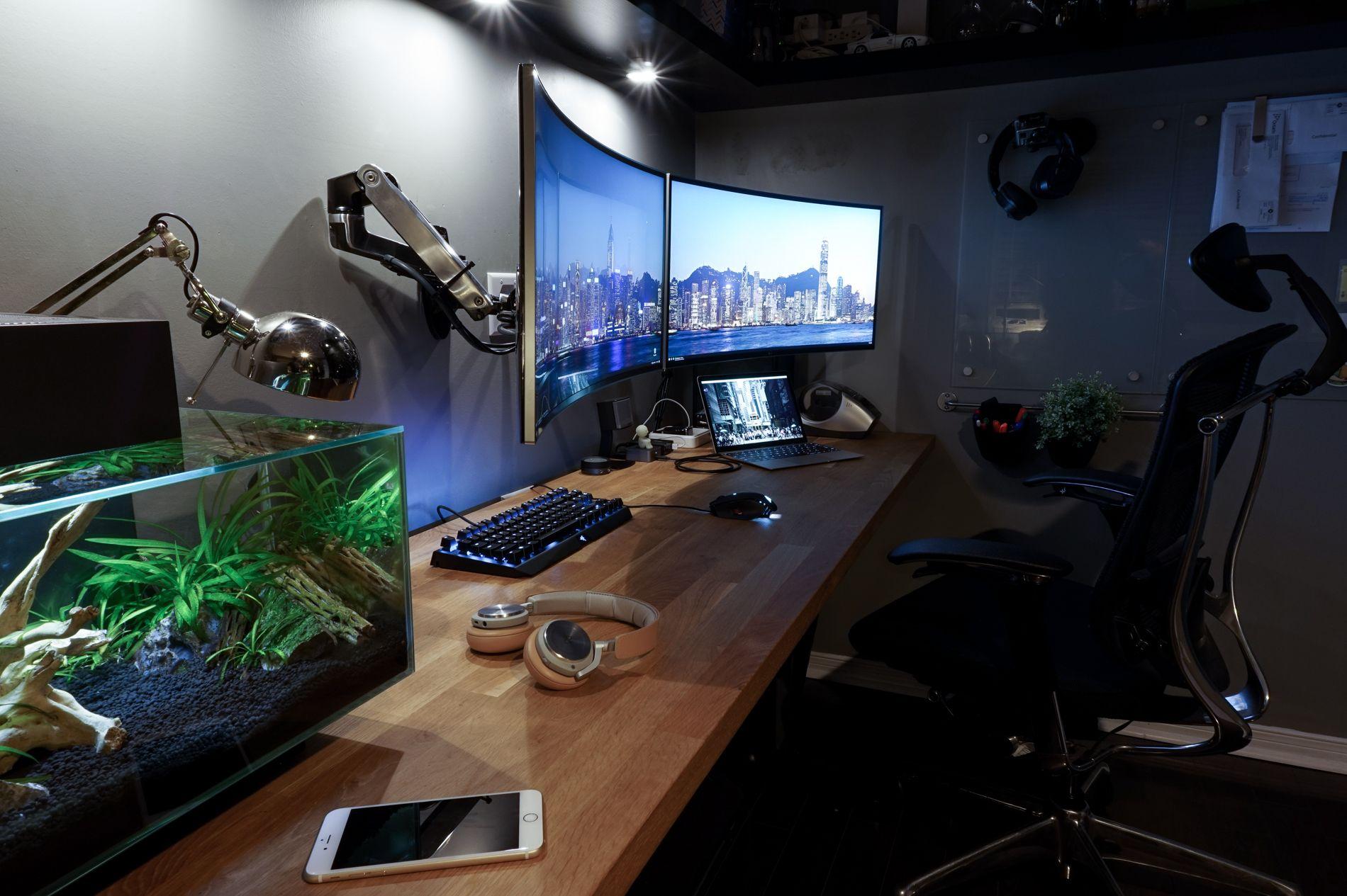 A non gamer software engineer s battlestation gaming setup