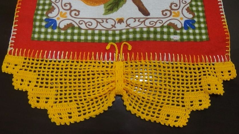 Barrado Borboleta Em Croche Material E Video Com Imagens