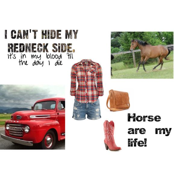 """""""I can't hide my redneck side."""" by georgiapeaches1997 on Polyvore"""