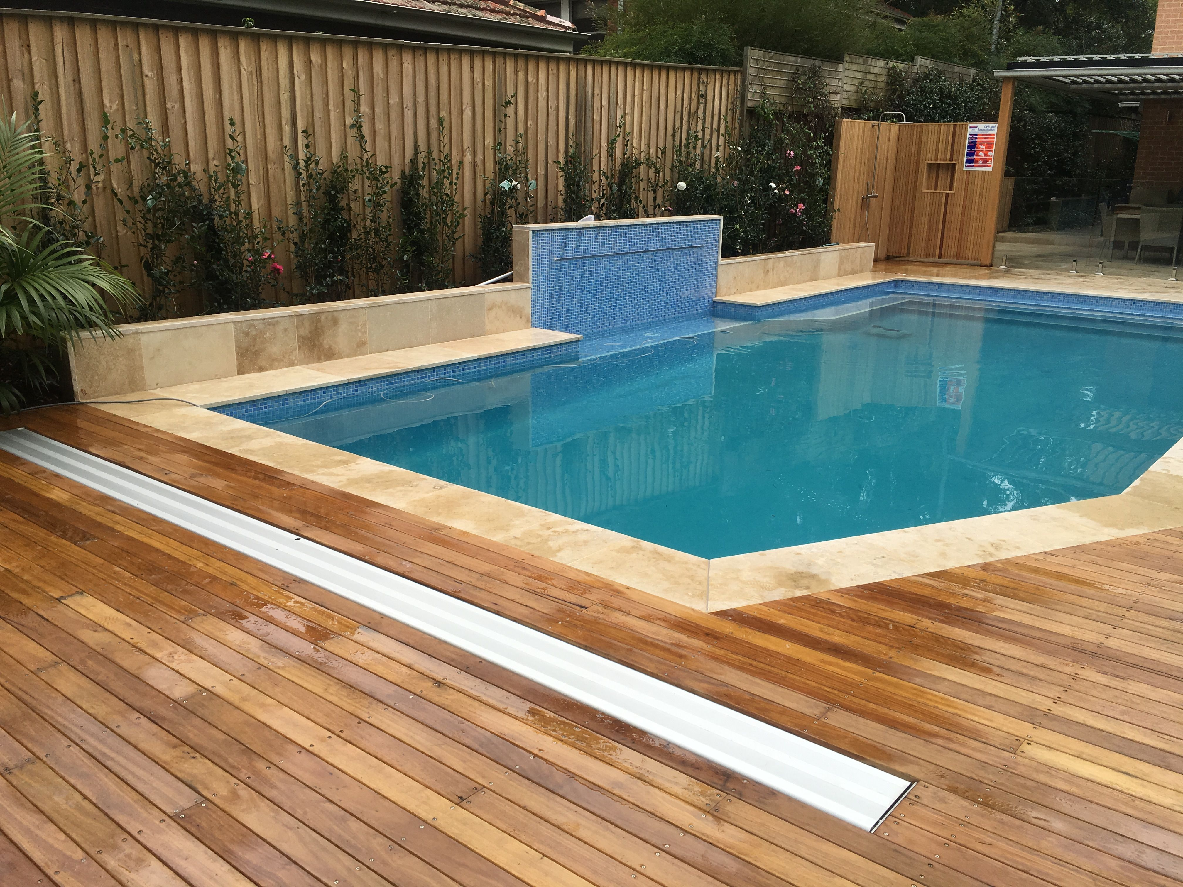 Downunder Hidden Swimming Pool Cover Rollers Everyone Knows How Great Pool Covers Are For