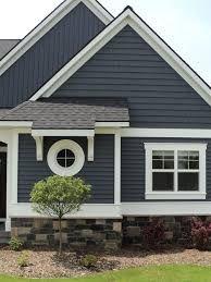 Blue Siding Exterior Paint Colors For House House Paint Exterior House Exterior