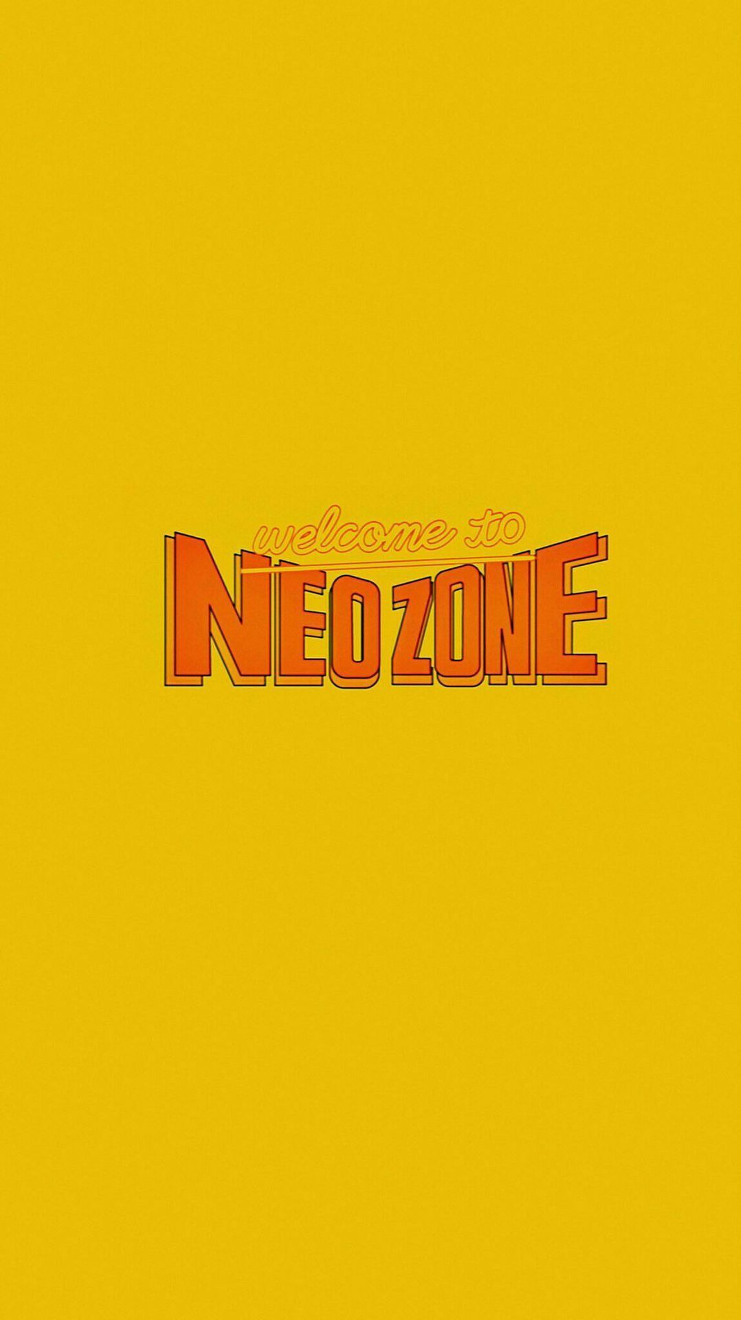 Nct Wallpaper Neo Zone Text In 2020 Nct Logo Nct Kpop Iphone Wallpaper