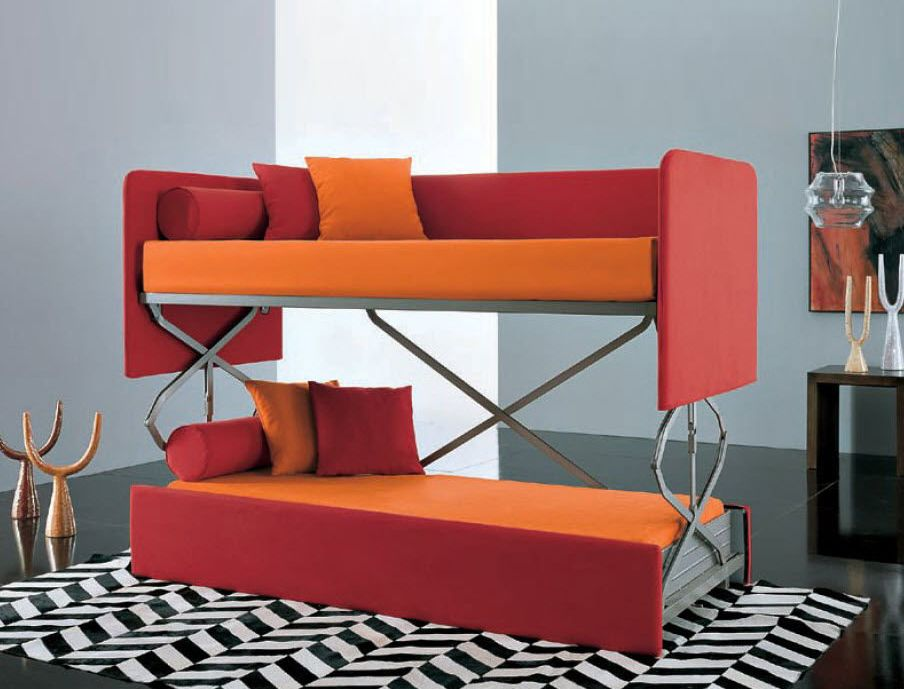 How Modern Convertible Couch Bunk Bed Helps You To Maximize Space