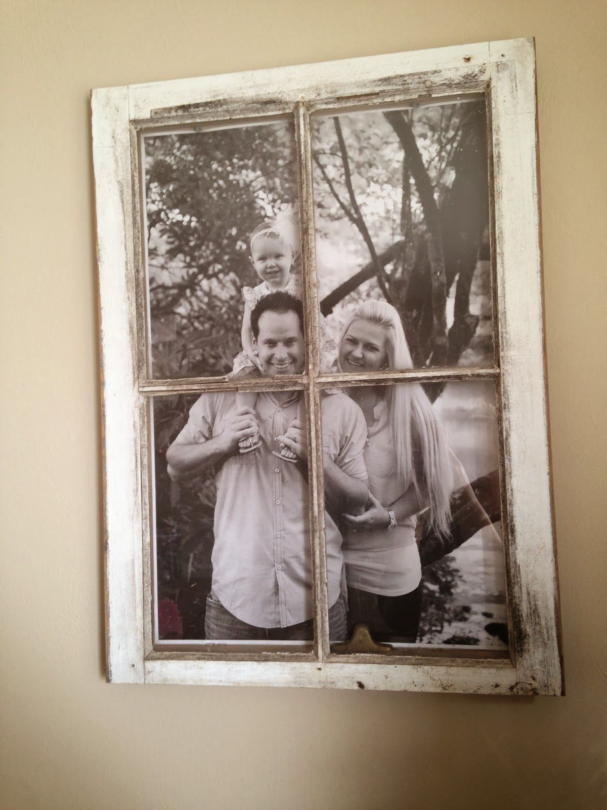 Live, Laugh & Love With Lana : Picture Frame Window | Windows that ...