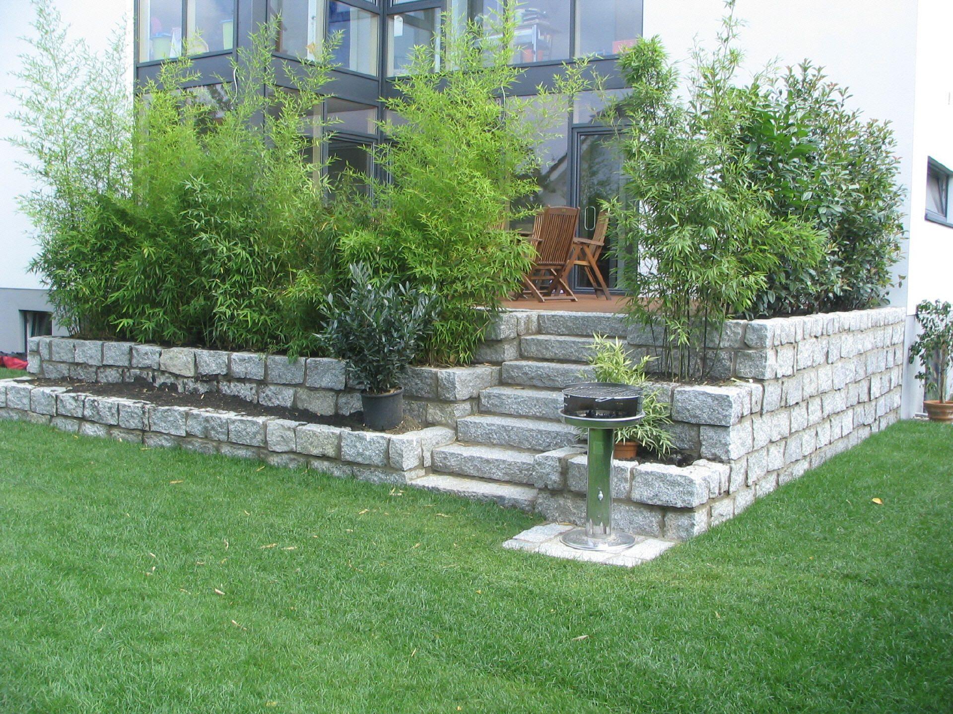 Gartengestaltung Terrasse Hoher Als Garten Garten Gestaltung Ideen