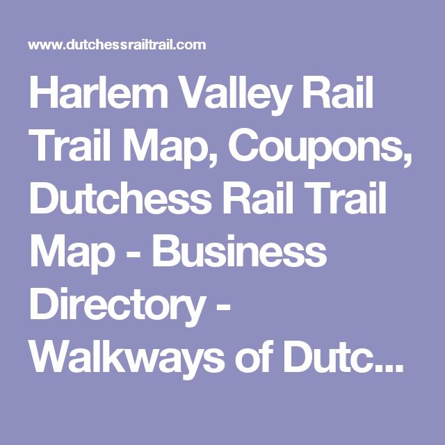 Harlem Valley Rail Trail Map, s, Dutchess Rail Trail Map ... on