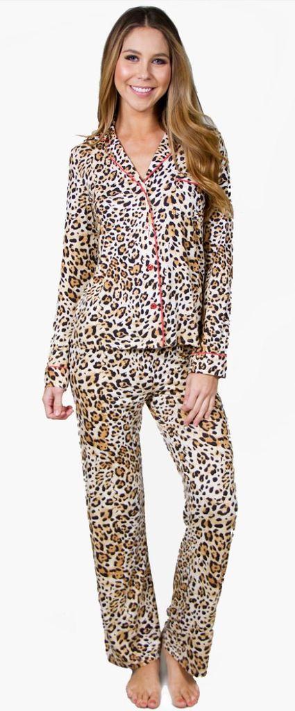1b0ccbe20e PJ Salvage Leo Nights Modal Jersey Set Style RELNPJ - Ivory