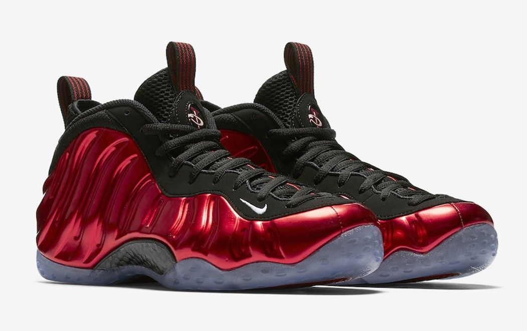 841aaee4ed473 Nike Air Foamposite One Metallic Red If you are a fan of the Foamposite you  already saw this one back