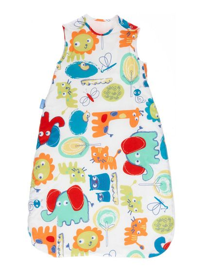 28e4908b7aa9 grobag® Baby Sleeping Bag Doodle-Zoo 1.0 TOG by GRO on Gilt.com ...