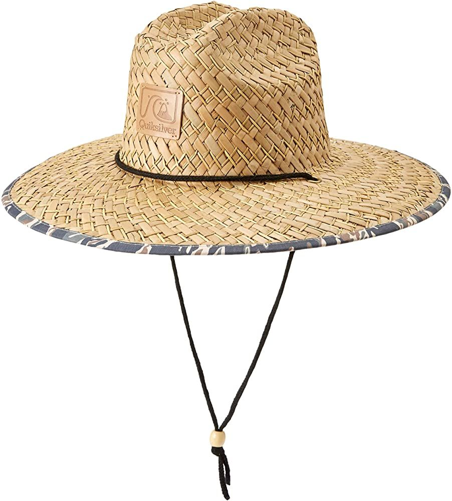Amazon Com Quiksilver Men S Outsider Sun Protection Hat Camo L Xl Clothing Quiksilver Men Sun Protection Hat Lifeguard Hat