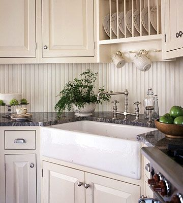 Country Kitchen Sink Painted Round Table Corner Sinks H My House French A Plate Rack Above This Makes Putting Away Dishes Breeze The Faucet And Apron Front Echo Traditional