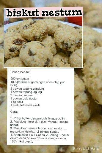 Biskut Nestum Cookie Recipes Shortbread Cookie Recipe