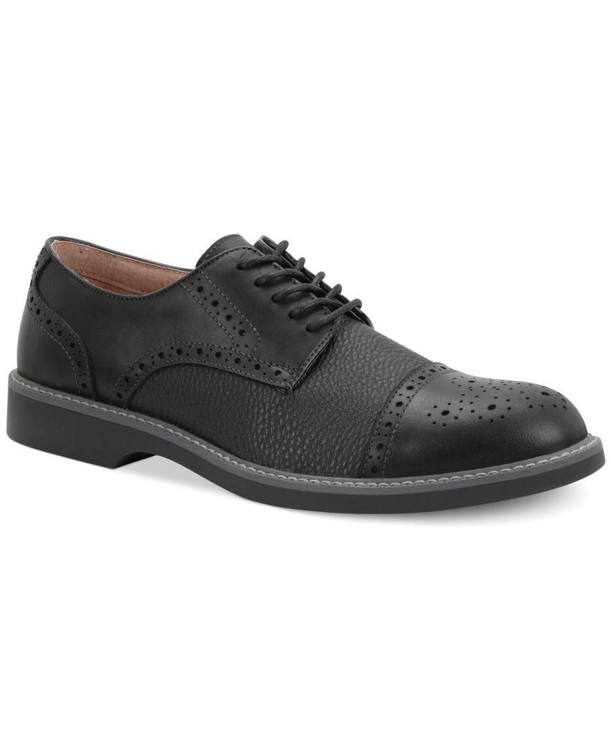 Bass Perkins Cap-Toe Oxfords - All Men's Shoes - Men - Macy's