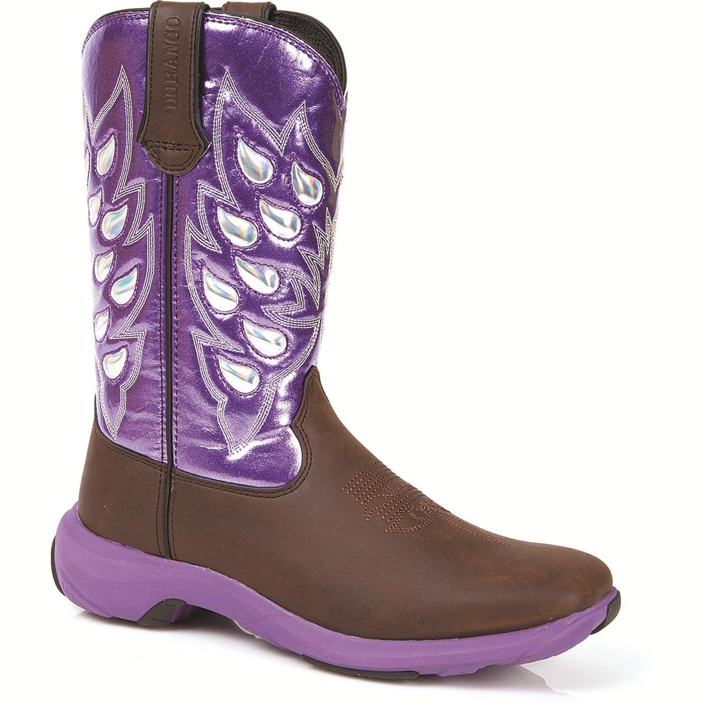 um, purple soles? Durango Women's Rebelicious Flutter Western Boot (Style #DWRD003 - Durango Boot Company