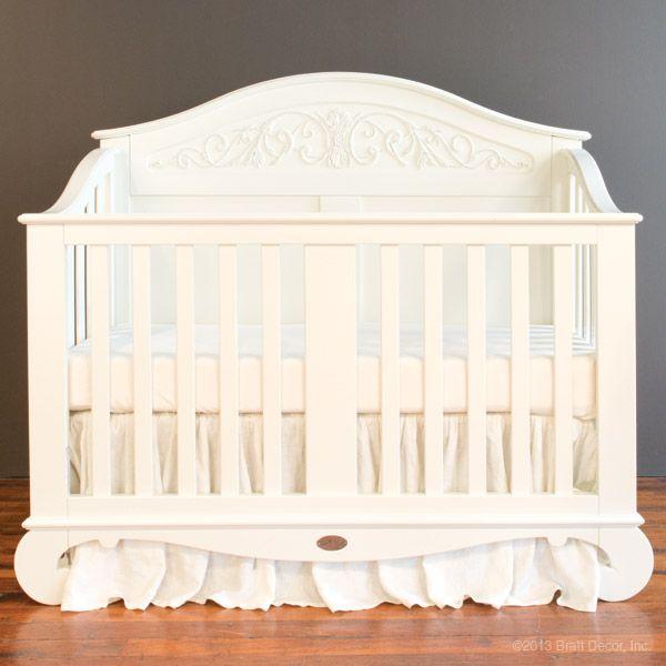 Chelsea Lifetime Crib White Cribs Baby Furniture Princess Nursery