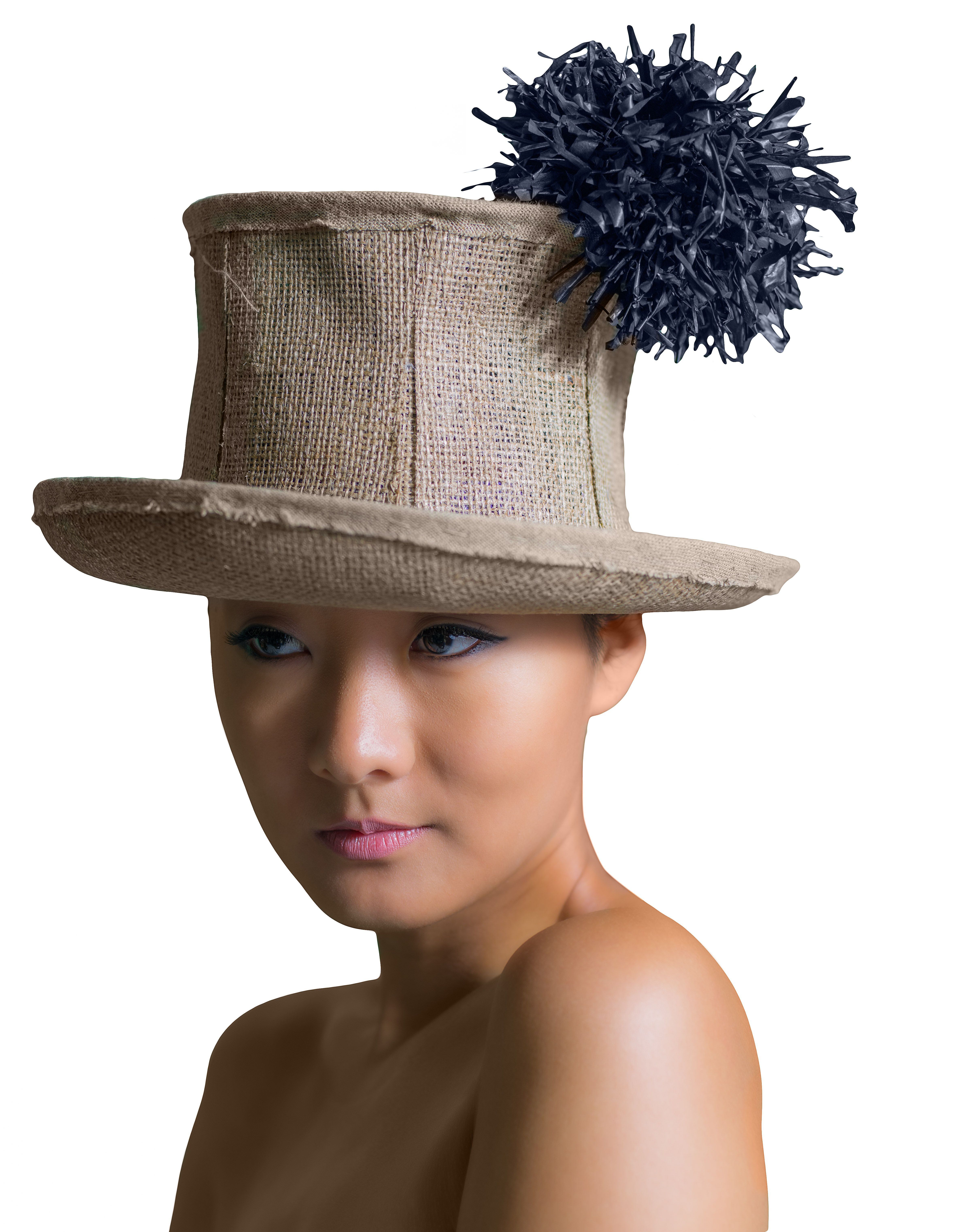 Fashion style How to fascinator a top hat wear for girls