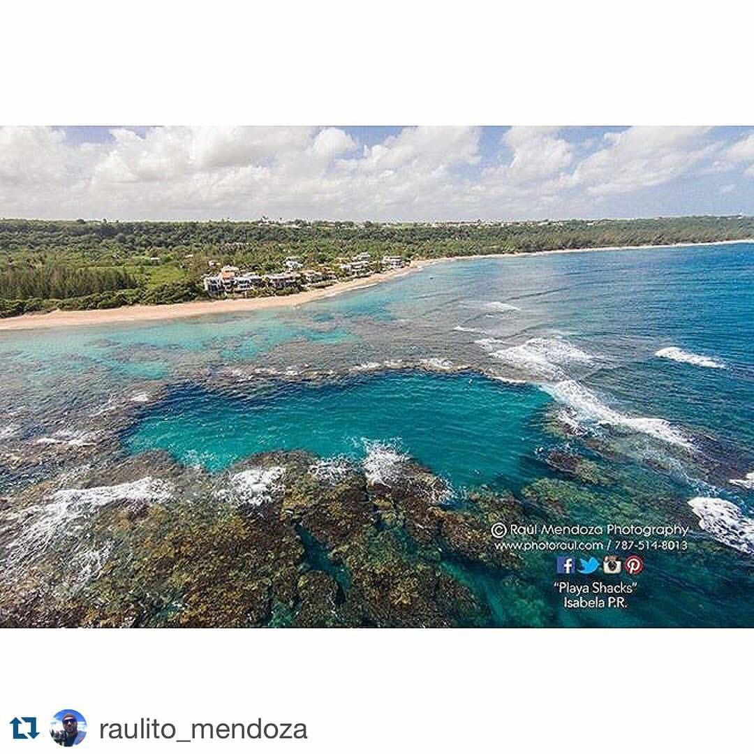 This Is The Blue Hole At Shacks Beach In Isabela Pr Gracias Para Repost Raulito Mendoza Stay Villa Tropical 787 872 8172 Villatropical