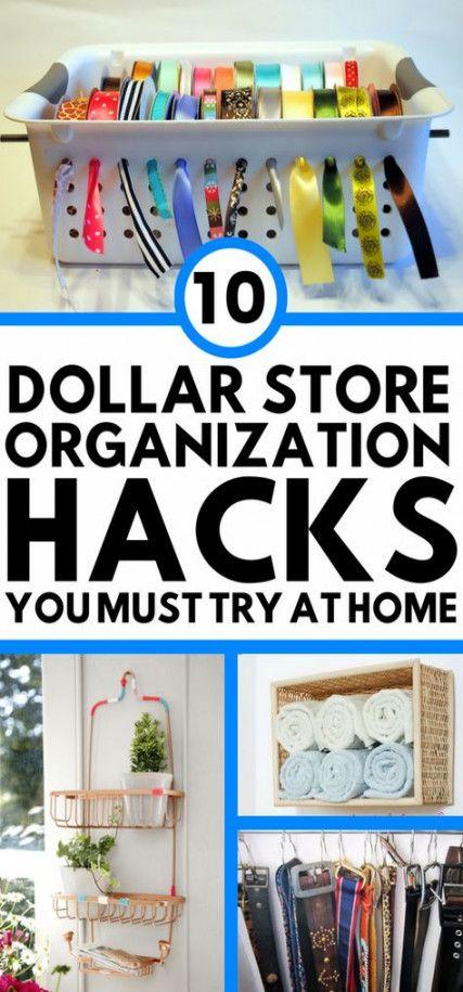 Sewing Room Organization Ideas Hacks Dollar Stores 70 Best Ideas #dollarstores