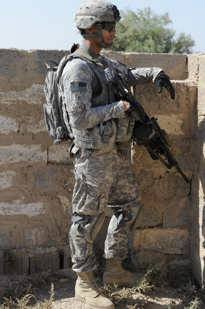 US Soldiers From 3rd Platoon Alpha Company 2nd Battalion 23rd Infantry Regiment