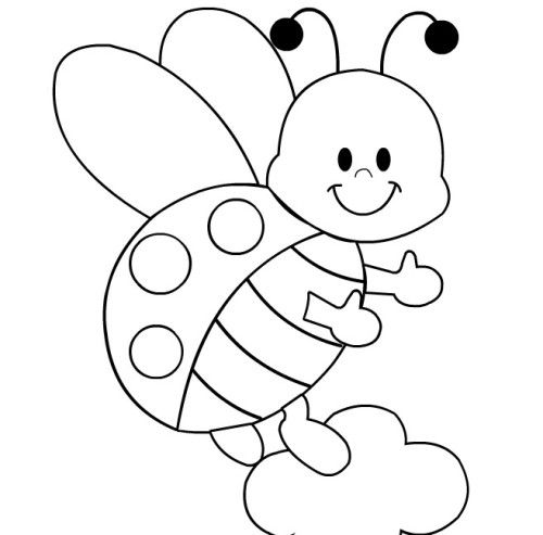 Ladybug Coloring Pages To Print April2014 Pinterest Ladybug