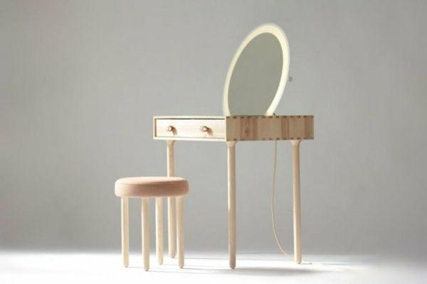 Zwei Moderne Schminktisch Design Ideen Mit Rosa Farbakzenten