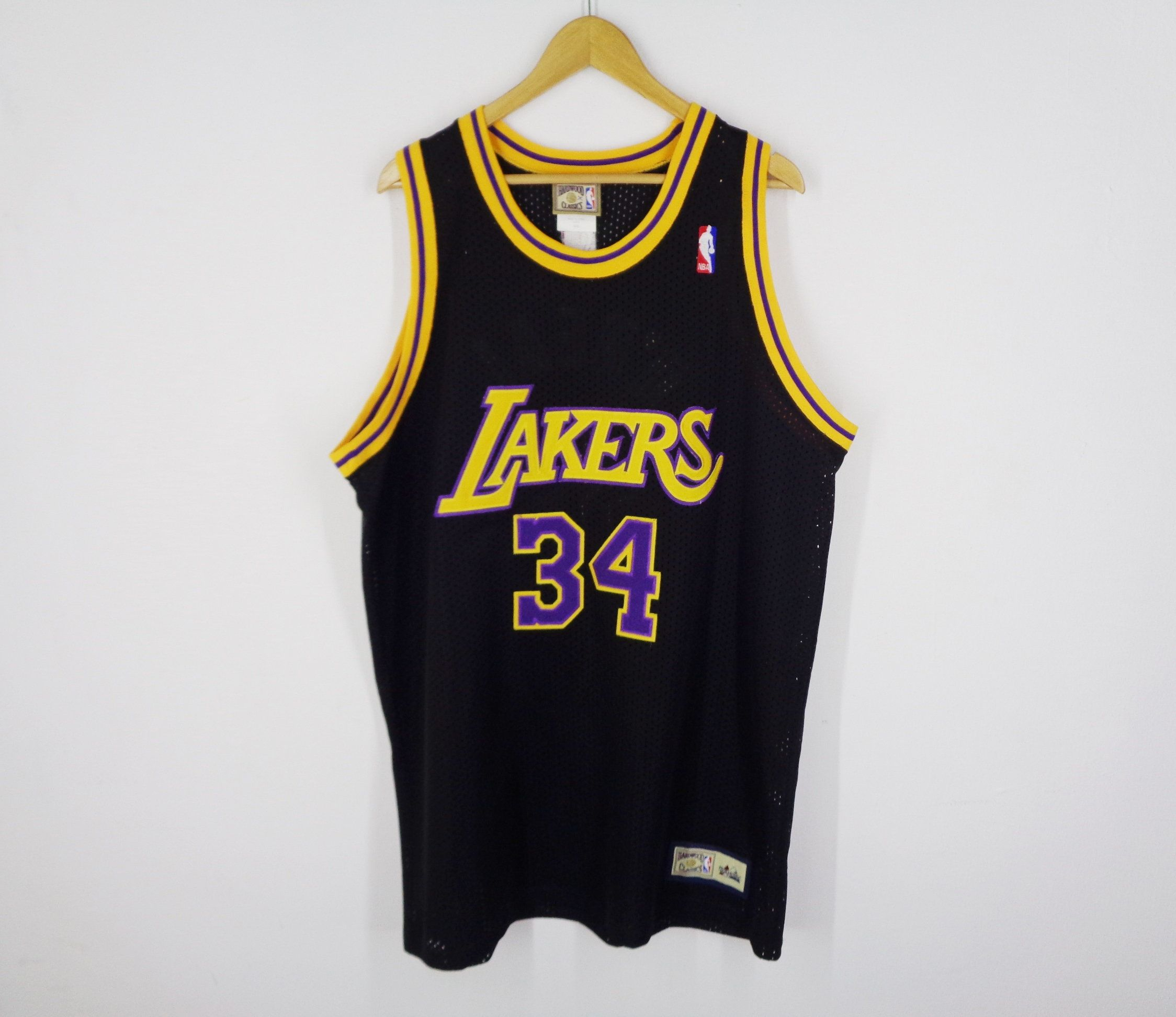 La Lakers Jersey Los Angeles Lakers Shaquille O Neal 34 Los Angeles Lakers Nba Basketball Mesh Jersey By Shaquille O Neal Los Angeles Lakers La Lakers Jersey