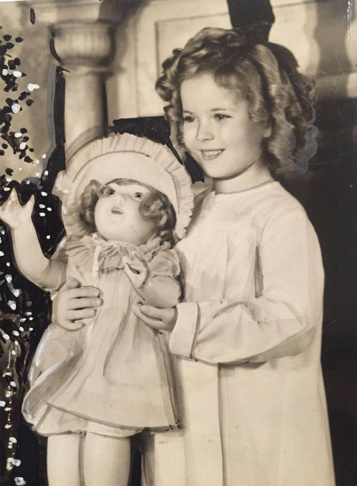 Shirley Temple\'s Christmas,Curly Top,1935. | Shirley Temple ...