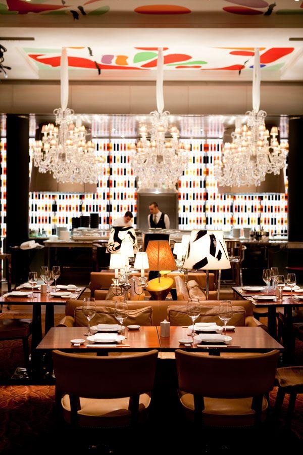 La Cuisine restaurant at Le Royal Monceau, Raffles Paris, was ... on