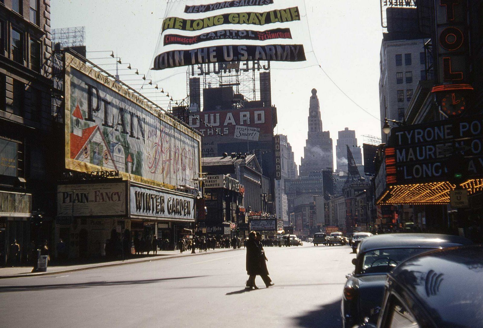 plain and fancy broadway and 49th st ny 1955 new york ny