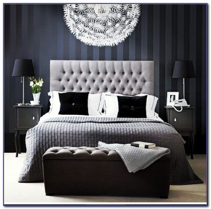 Bedroom Ceiling Wallpaper Bedroom Ideas With White Furniture Light Blue Black And White Bedroom Beautiful Bedroom Chandeliers: Image Result For Navy Blue And Grey Bedroom Ideas