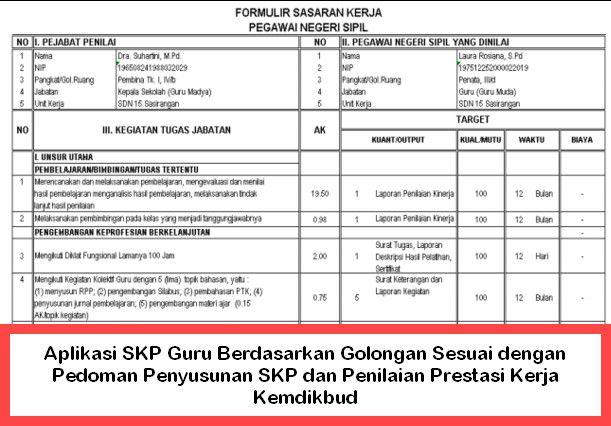 Daftar Nominatif Penilaian Prestasi Kerja Pns Tahun 2016 Dan 2017 Dinas Pendidikan Kecamatan Sangkapura