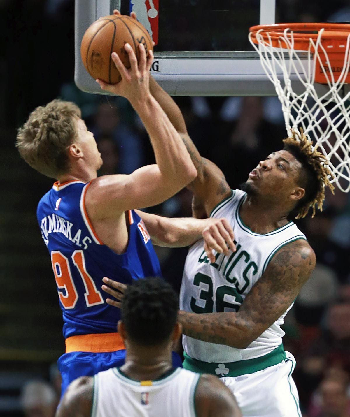 Derrick Rose leads Knicks past Celtics The Boston Globe