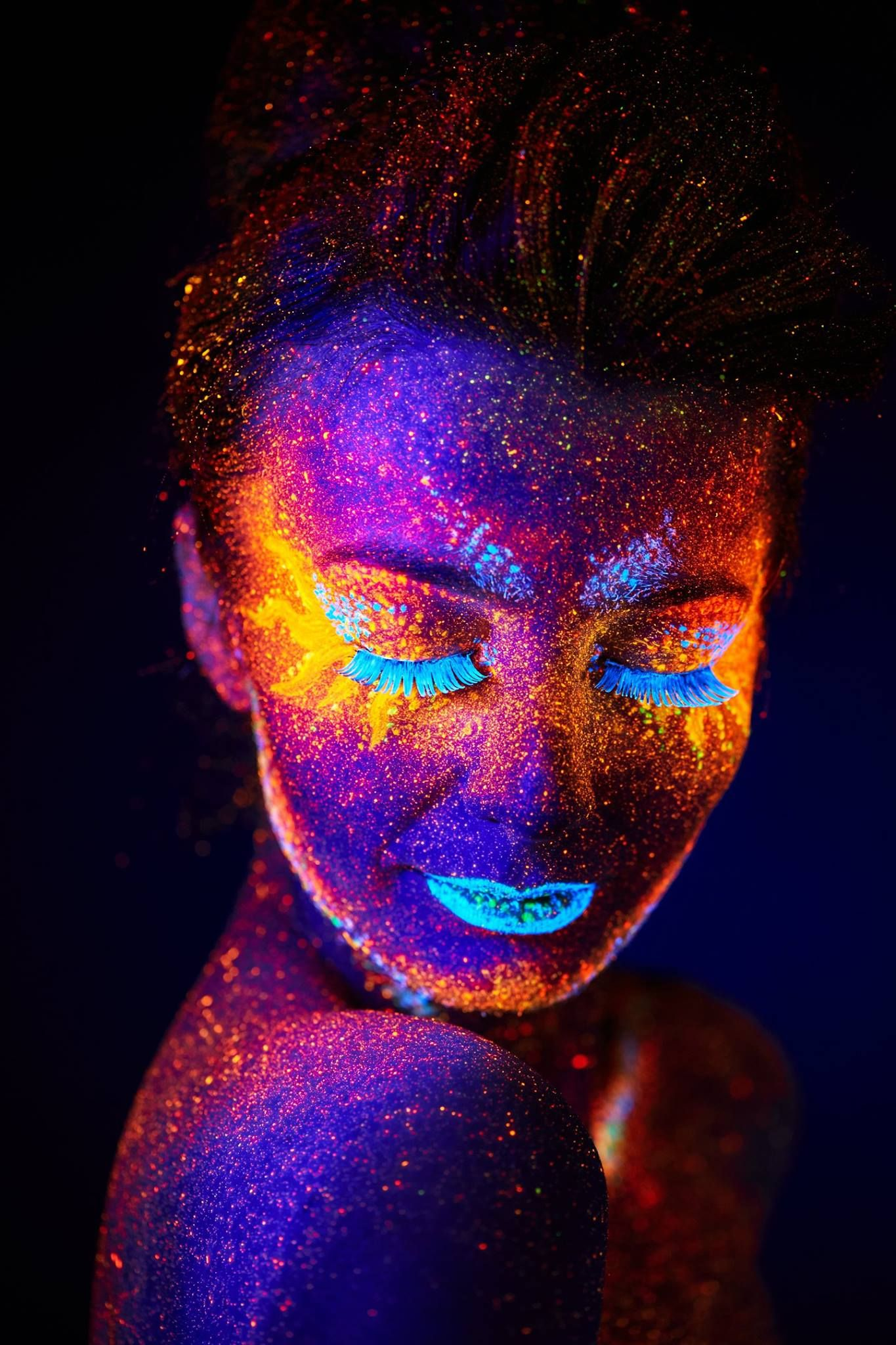 All humans have the ability to see ultraviolet light, but ...