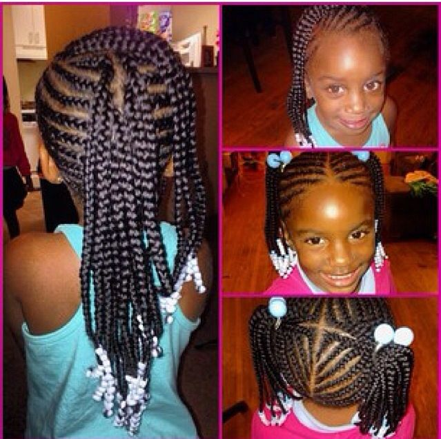 Little Girl Hairstyle Youtube: Braided Hairstyles, Kids Braided