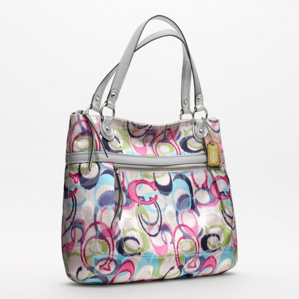 Coach Poppy Ikat Glam Tote Reaaaally Like This Bag