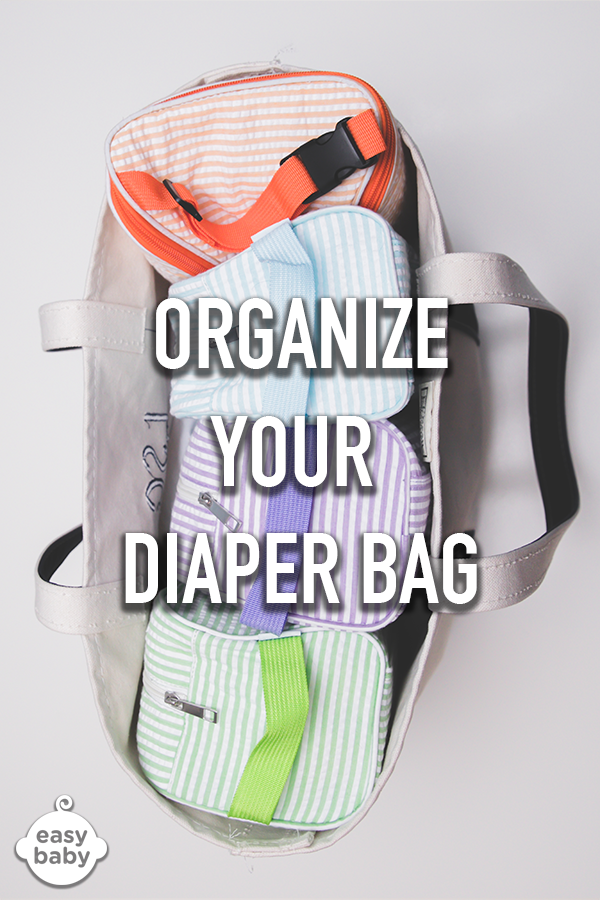 """Easy Baby Travelers organize your diaper bag into """"Change Me"""", """"Feed Me"""" and """"Dress Me"""" portable totes - a perfect system for calming your baby's cries faster, carrying only what you need and getting dad to help with baby. Available in many styles. Comes with a 2 year durability warranty. Free US Shipping."""