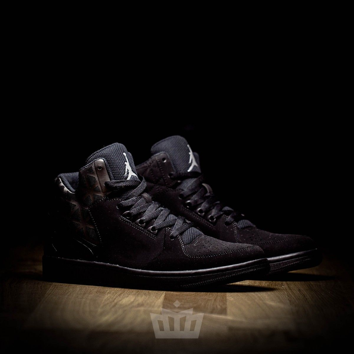 the best attitude 49874 2783f Nike Air Jordan 1 Flight 3 triple black 706954-010 - Air Jordan - Shoes -  ATAF